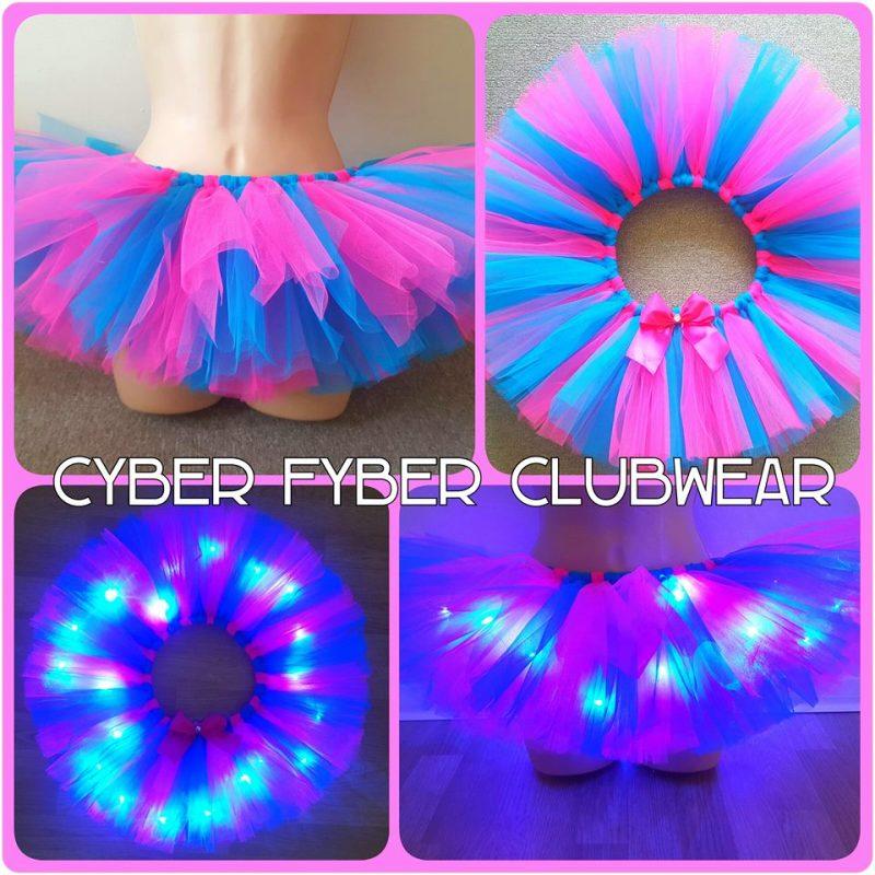 cc3a9ef9d9 Tutti - Light Up Tutu - Various Colours - Cyber Fyber UK
